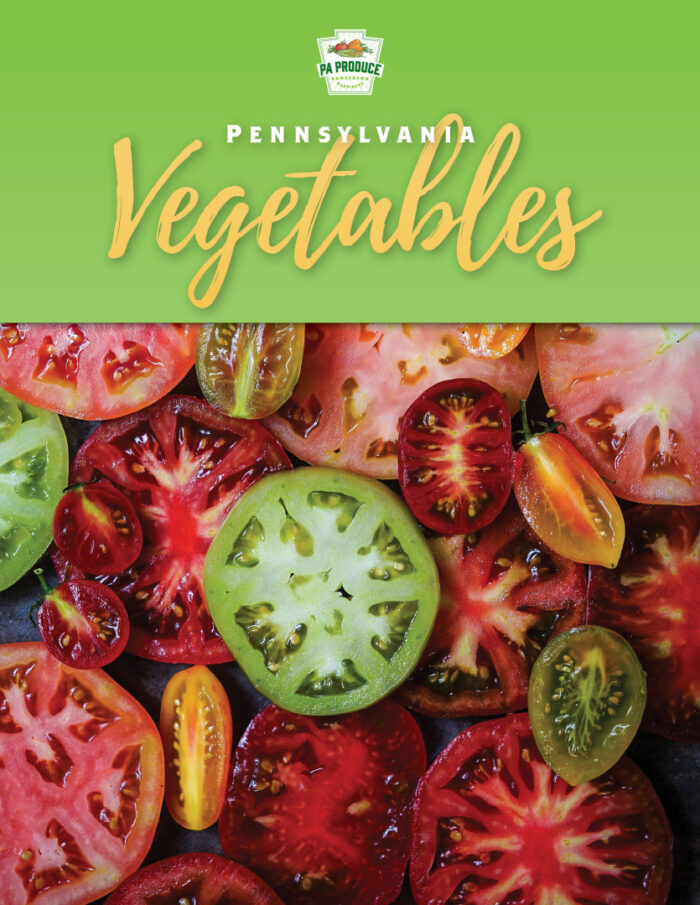 PA Veggies 2020 Digital Cookbook When & Where Chart Pages