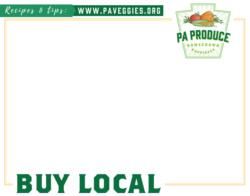 PA Produce Price Card