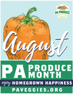 Small PA Produce Month Poster